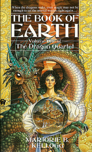 Dragon Quartet - Book of Earth by Marjorie Bradley Kellogg