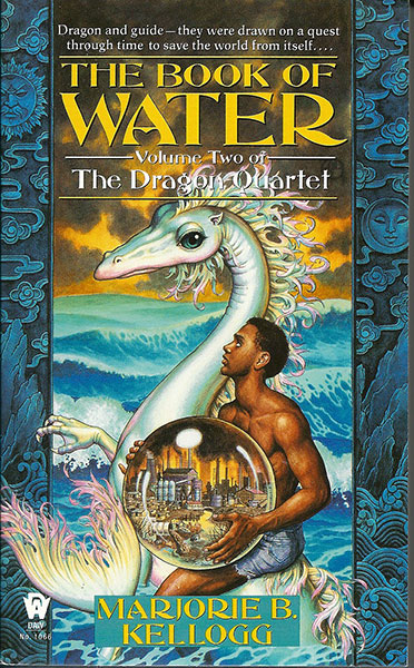 Dragon Quartet - Book of Water by Marjorie Bradley Kellogg