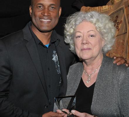 photo of Kenny Leon and Marjorie Bradley Kellogg