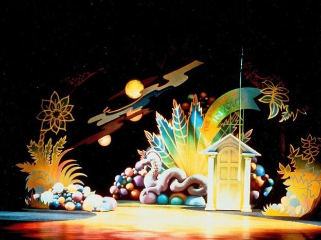 A Wrinkle in Time scenic design by Marjorie Bradley Kellogg