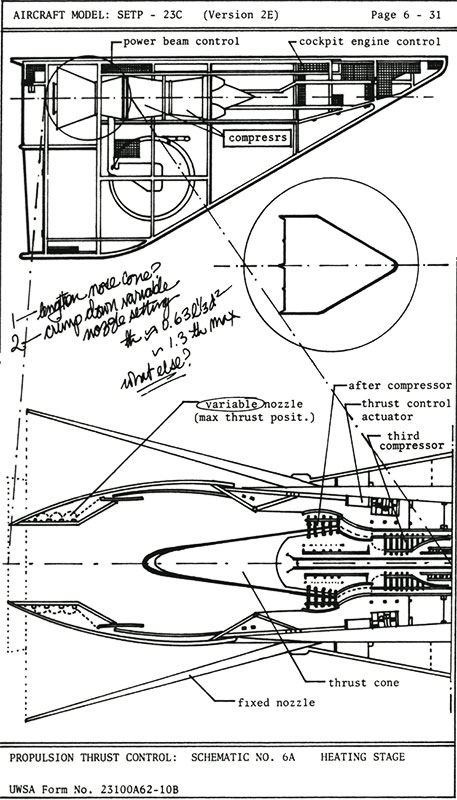 Lear's Daughters Illustration # 9 - Schematic of Sled
